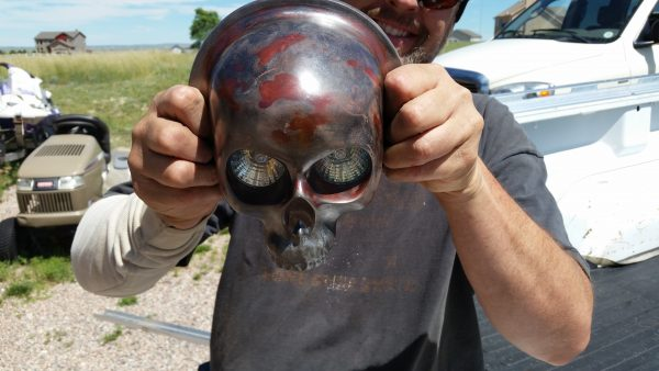 Custom Skull Motorcycle Parts, Accessories