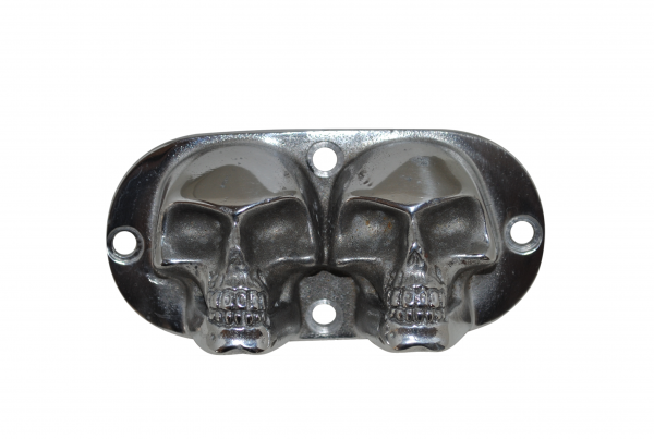 two skull timing cover