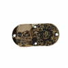 brass skulls timing cover