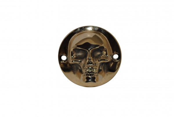 brass skull timing cover