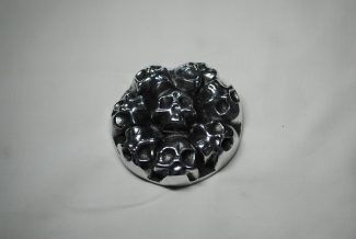 skulls gas cap cover