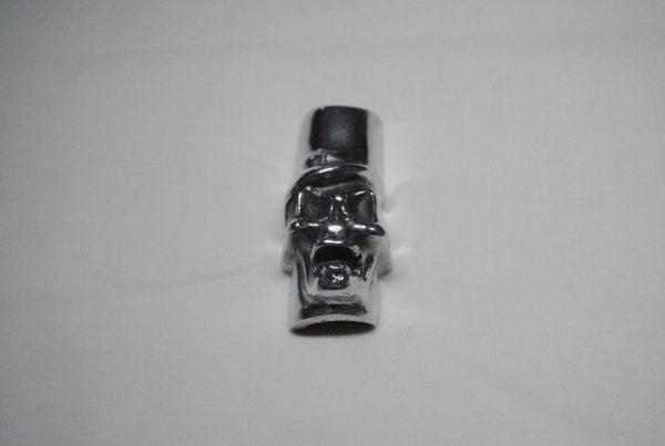 skull push rod clip