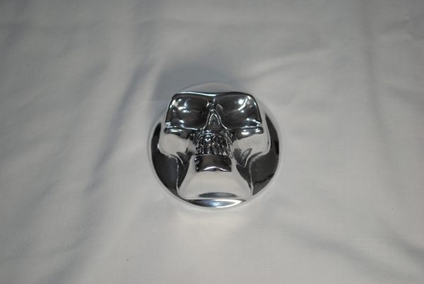 skull gas cap cover