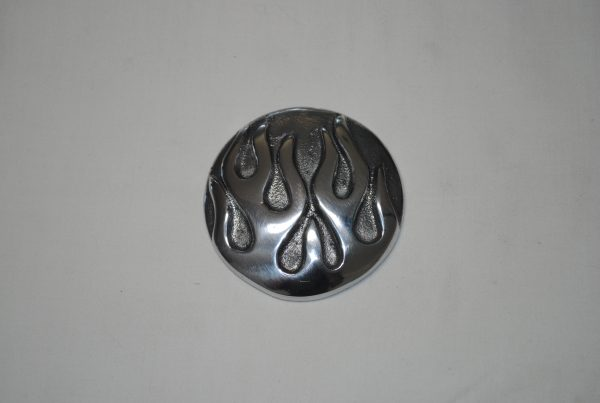 flame gas cap cover