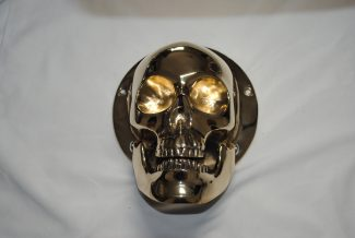 skull head derby cover